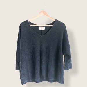 Sol Angeles Ribbed Top Sz S